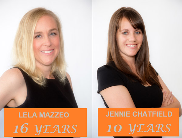 Happy Anniversary to Lela Fox-Mazzeo and Jennie Chatfield!
