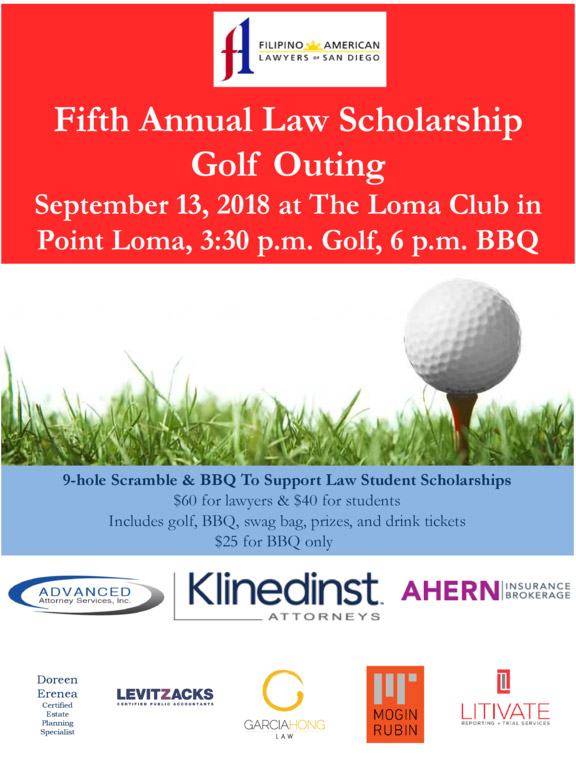 FALSD 5th Annual Law Scholarship Golf Outing