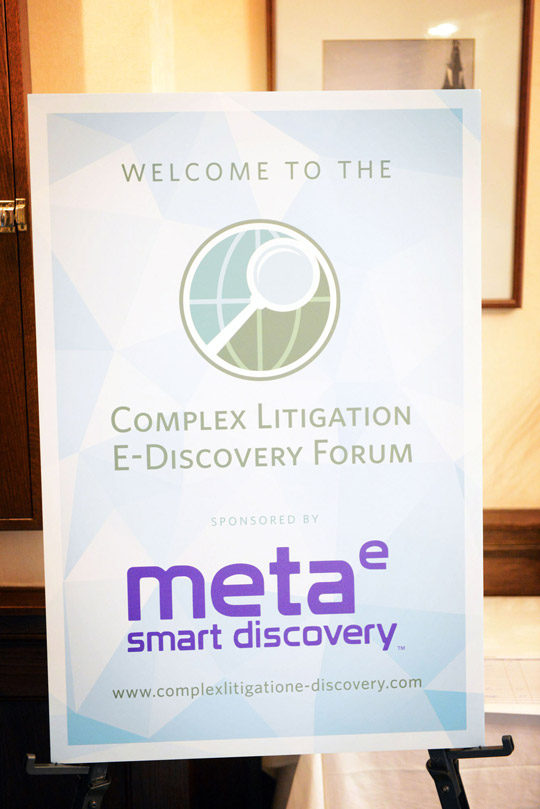 Welcome to the Complex Litigation E-Discovery Forum