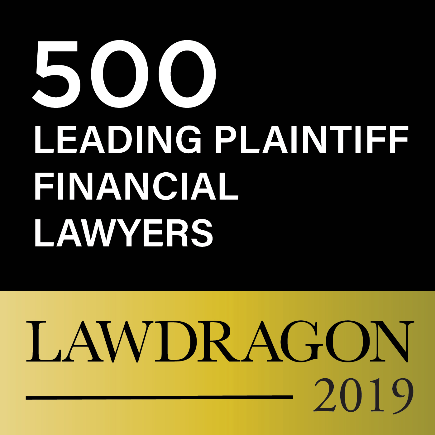 Lawdragon 2019 Badge