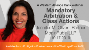 Mandatory Arbitration and Class Actions
