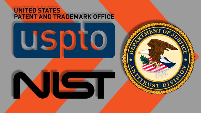 USPTO NIST DOJ Antitrust Division Joint Policy Statement